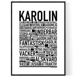 Karolin Poster