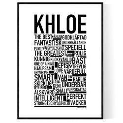 Khloe Poster