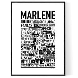 Marlene Poster