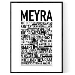 Meyra Poster