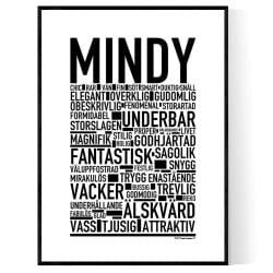Mindy Poster