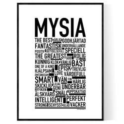 Mysia Poster