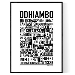 Odhiambo Poster
