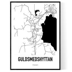 Guldsmedshyttan Karta