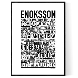 Enoksson Poster