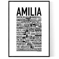 Amilia Poster