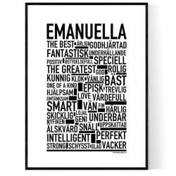 Emanuella Poster