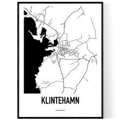 Klintehamn Karta