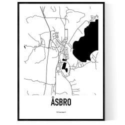 Åsbro Karta