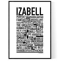Izabell Poster
