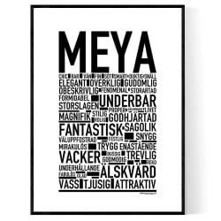 Meya Poster