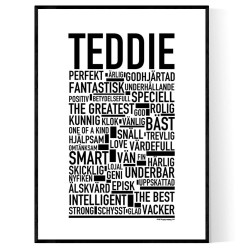 Teddie Poster