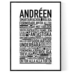 Andréen Poster
