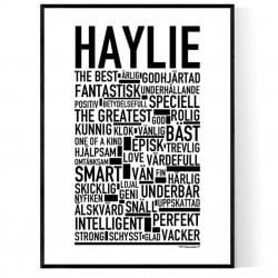Haylie Poster