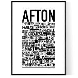 Afton Poster