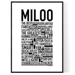 Miloo Poster
