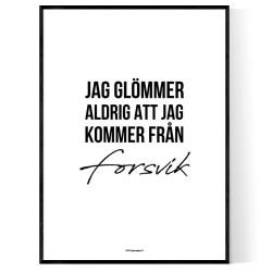 Från Forsvik