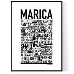 Marica Poster