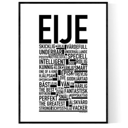 Eije Poster