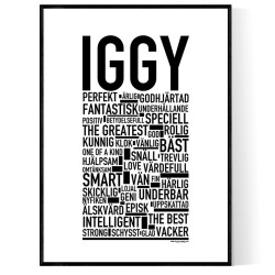 Iggy Poster