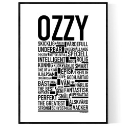 Ozzy Poster