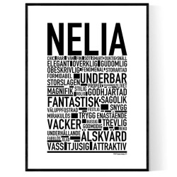 Nelia Poster