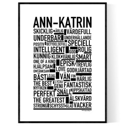 Ann-Katrin Poster