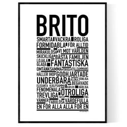 Brito Poster