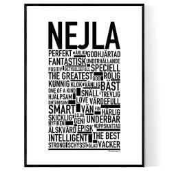 Nejla Poster