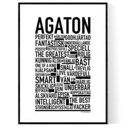 Agaton Poster