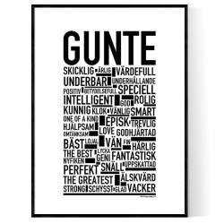 Gunte Poster