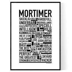 Mortimer Poster