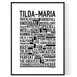 Tilda-Maria Poster