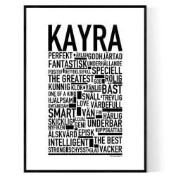 Kayra Poster