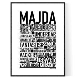 Majda Poster