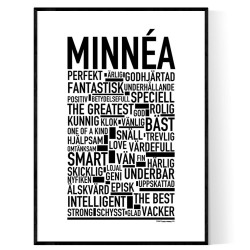 Minnéa Poster