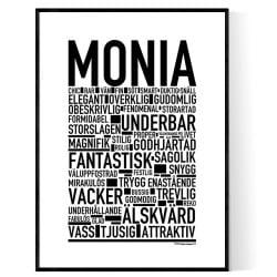 Monia Poster