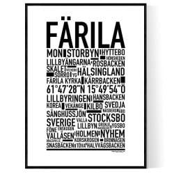 Färila Poster