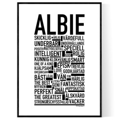 Albie Poster