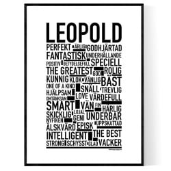 Leopold Poster