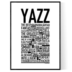 Yazz Poster