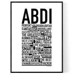 Abdi Poster