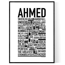 Ahmed Poster