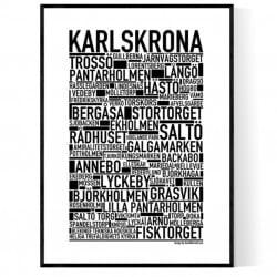 Karlskrona Poster