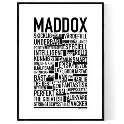 Maddox Poster