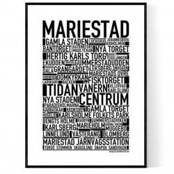Mariestad Poster