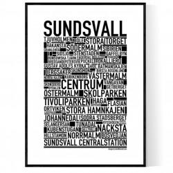 Sundsvall Poster