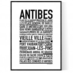 Antibes Poster