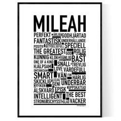 Mileah Poster