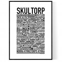 Skultorp Poster